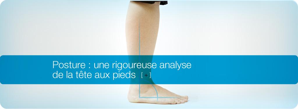 Posture : une rigoureuse analyse de la tête au pieds