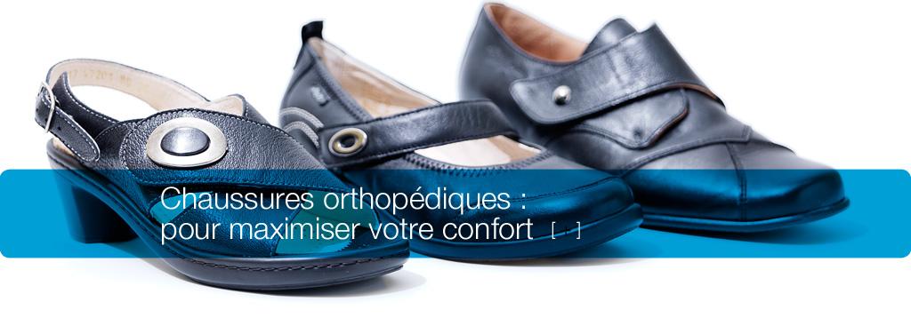 Chaussures orthopédiques : pour maximiser votre confort